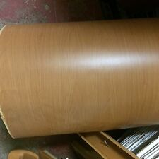 10M X 65cm WOOD EFFECT PAPER FILM FOIL,COVERING,VENEER,CARAVAN,WALL ,MOTORHOME