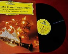 KARL LEISTER perfors WEBER CLARINET CONCERTOS with the BERLIN PHILHARMONIC