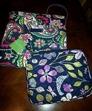 LOT VERA BRADLEY PVC Hipster Cross body Shoulder Bag+Tablet Fabric Floral Case