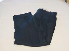 Mens Polo by Ralph Lauren Pant linen 36 X 30 pants slacks navy blue EUC @