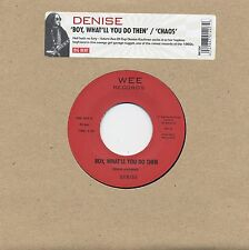 """DENISE Boy What'll You Do Then vinyl 7"""" NEW garage punk Ace Of Cups The Answer"""