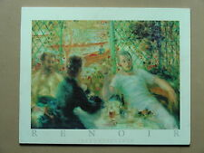 "RENOIR ""THE ROWER'S LUNCH"" LITHOGRAPH ON WOOD"