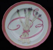 Rare Minton Pate-Sur-Pate Porcelain Asparagus Plate Gorgeous! Antique