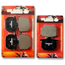 Honda F+R Brake Pads CB 750 F Supersport (1977-1980) CB 900 C Custom FZ FA 80-81