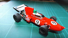 SCALEXTRIC MARCH 721 F1 Car - With New Rear Tyres !