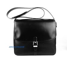 MONTBLANC MEISTERSTUCK SOFT BAG BRIEFCASE BLACK LEATHER MESSENGER NEW 104652