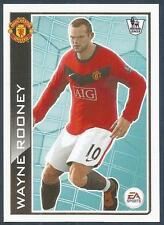 TOPPS 2010 PREMIER LEAGUE - #T2-MANCHESTER UNITED & ENGLAND-EVERTON-WAYNE ROONEY