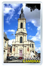 CAMBRAI FRANCE FRIDGE MAGNET SOUVENIR IMAN NEVERA