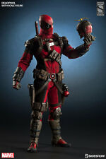 DEADPOOL EXCLUSIVE SIXTH SCALE FIGURE BY HOT TOYS SIDESHOW COLLECTIBLES
