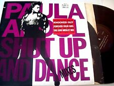 "Paula Abdul - Shut Up and Dance 12"" LP (Remixes of Forever Your Girl Album) VG+"