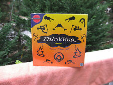 Think Blot Game by Mattel 2000 Edition~New & Factory Sealed!