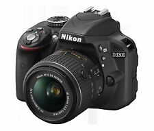 Nikon D3300 24.2MP DSLR Camera with AF-S 18-55mm VR Kit Lens,FREE 16GB WIFI CARD