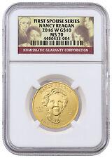 2016-W $10 1/2 oz. Gold First Spouse - Nancy Reagan NGC MS70 SKU42716