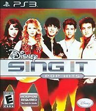 PS3 Disney Sing It: Pop Hits PlayStation 3 BRAND NEW SEALED (FREE SHIPPING)