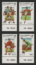 Gambia #615-618 VF MNH - 1986 World Cup Soccer Championships Mexico