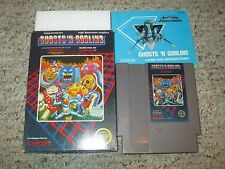 Ghosts 'n Goblins (Nintendo Entertainment System NES, 1986) Complete in Box GOOD