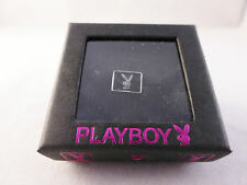Playboy Mens Single Stud Earring Bunny Logo and Swarovski Crystal (Gift Boxed)