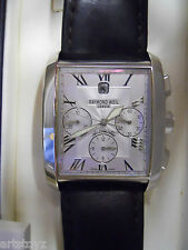 RAYMOND WEIL GENEVE MENS WATCH AUTOMATIC Chronograph 4875-STC-00658 Don Giovanni