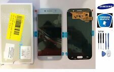 DISPLAY LCD + TOUCH SCREEN ORIGINALE SAMSUNG GALAXY A5 2017 A520F SM-A520F BLU