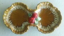 Vintage AP512 Maurice Ceramics, Calif, Divided Candy, Nut, Buffet Serving Dish
