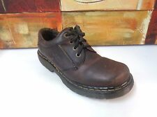 Dr Martens DM'S 8A17 SZ 8 UK 9 US Mens Brown Leather Lace Up Casual Oxford Shoes