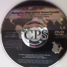 OEM GM Navigation DVD VERSION 8.3  771  9/2009 Update Map 2010 FOR USA  Canada