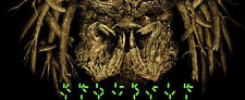 ELVISDEAD PREDATOR GID PRINT  BOTTLENECK GALLERY xx/80 GLOW IN DARK Not Mondo