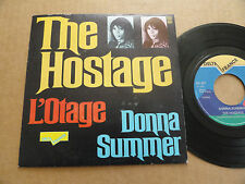 "DISQUE 45T DE DONNA SUMMER  "" THE HOSTAGE """