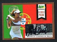 Michelle Larcher De Brito signed autograph auto 2013 Ace National Pride 48/50