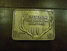 """Vintage NRA Whittington Center """"Preserving out Shooting Heritage"""""""