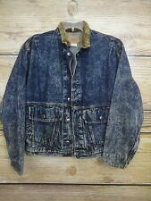 LEVI STRAUSS Vintage Denim Levis Jacket 75073-0227 Corduroy Collar Size SMALL
