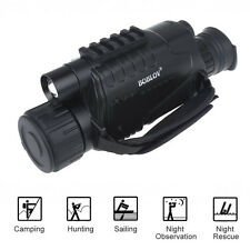 5x40 Infrared IR Digital Night Vision Video Camera Monocular Scope 8GB Recorder