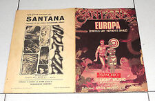 Spartito SANTANA Europa Earth's cry heanen's smile 1976 Sheet Music Songbook