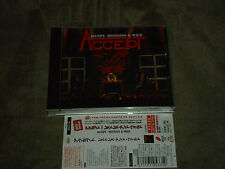 Accept Restless And Wild Japan CD