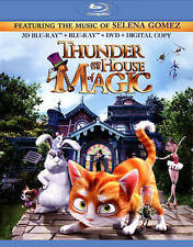 Thunder and the House of Magic (Blu-ray 3D Disc, 2015, 2-Disc Set)