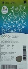 mint TICKET A 17.8.2016 Olympia Rio Wasserball Women's Spanien - China # 15:10