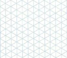 Alvin Isometric Paper 100-Sheet Pack 8.5 x 11 Inches (1242-5), New, Free Shippin
