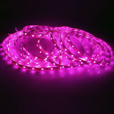 1roll LED Strip Pink Color Romantic pinkish 300 leds Flexible tape Light for KTV