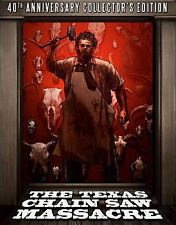 TEXAS CHAINSAW MASSACRE (+DVD)(4K MASTERING) - BLU RAY - Region A - Sealed