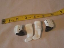 RETIRED MiNI AMERICAN GIRL MARIE GRACE BUTTON BOOTS WITH SOCKS HTF FOR ANY MINI