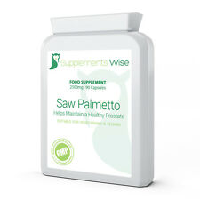 Saw Palmetto Capsules 90 x 2500mg HIGH STRENGTH Healthy Prostate Supplement