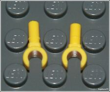 Lego x2 Yellow Hands Minifigure Arm Part Pair NEW