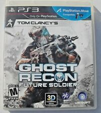 "PS3 GHOST RECON ""Future Solider""  PlayStation 3 Game  Tom Clancy's COMPLETE LN"