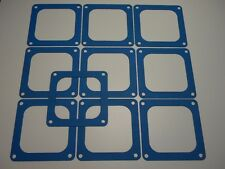 Holley QFT AED CCS Blue NON STICK Dominator 4500-4700 Flange Gasket 10 Pack