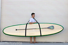 SUP Paddle Board Longboard Surfboard Deluxe Carrier Shoulder Strap California