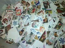 US Used/Canceled Postage Stamps 75 Different Christmas/Holiday  Stamps