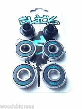 Ezyroller ABEC 11 BEARINGS-CUSCINETTO CARRELLO Kart Wheel Spacer vani SLICK