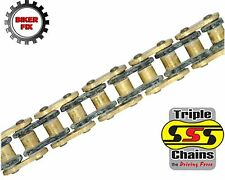 Yamaha FZ6 YCB,YCL,YL (FZS6) 09 SSS GOLD Heavy Duty O-Ring Chain