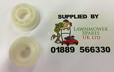 2x STIGA Petrol Lawnmower Plastic Wheel inserts