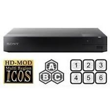 Sony BDP-S1500 MULTI REGION ALL REGIONS Free ABC DVD 1-8  Blu-Ray Player